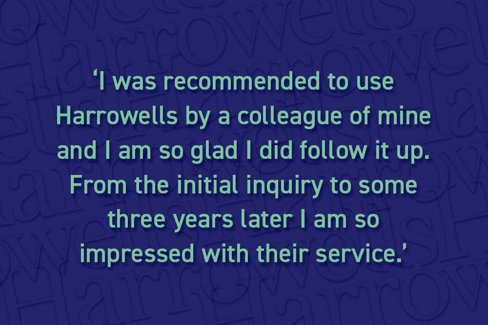 Excellent client feedback for Corporate and Commercial Team