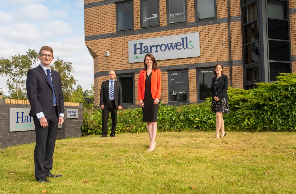 Harrowells expands corporate team in growth strategy