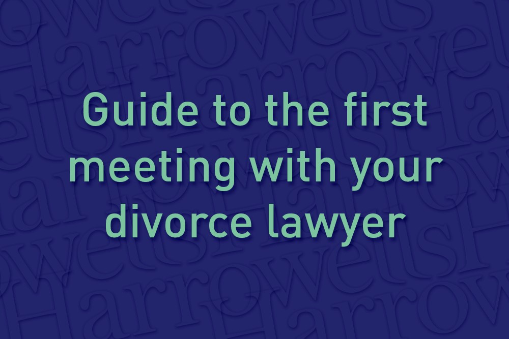 Guide to the first meeting with your divorce lawyer
