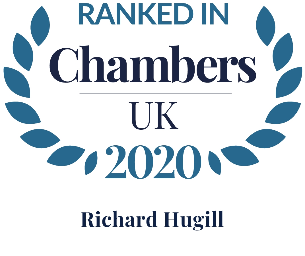 Ranked in Chambers - Richard Hugill